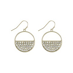 The Collection - Half circle drop earring