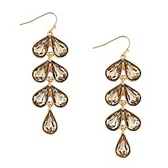 J by Jasper Conran - Designer long crystal chandelier earring