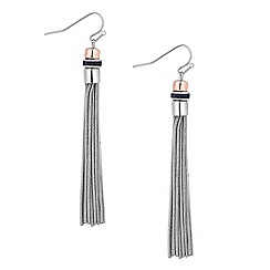 J by Jasper Conran - Designer crystal and slinky chain drop earring