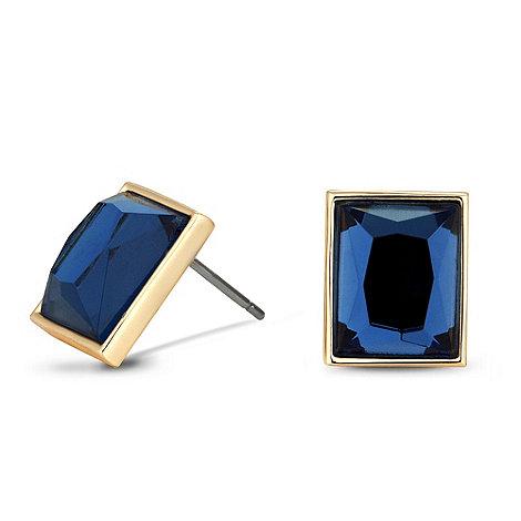 J by Jasper Conran - Designer blue square stud earring