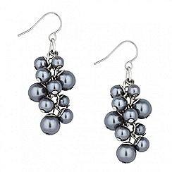 J by Jasper Conran - Designer multi grey pearl cluster earring