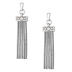 J by Jasper Conran - Designer pearl and tassel drop earring