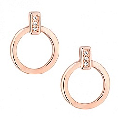 J by Jasper Conran - Designer crystal set door knocker earring