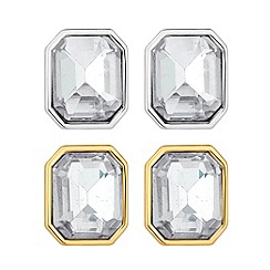 J by Jasper Conran - Designer crystal earring multi pack