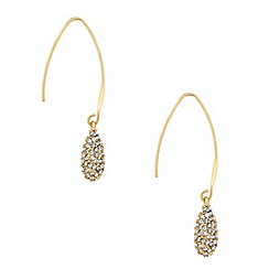 J by Jasper Conran - Designer long stick crystal peardrop earring