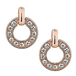 J by Jasper Conran - Designer crystal encased circular drop earring