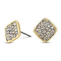 J by Jasper Conran - Designer crystal embellished square earring