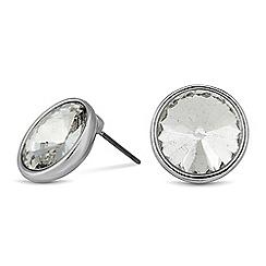 J by Jasper Conran - Designer round crystal stone earring
