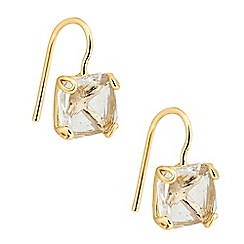 J by Jasper Conran - Designer square crystal mini drop earring