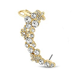 J by Jasper Conran - Online exclusive designer delicate flower ear cuff