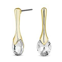 J by Jasper Conran - Designer gold cubic zirconia teardrop earring