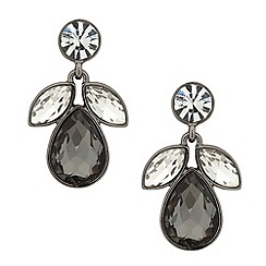 J by Jasper Conran - Designer mixed grey cluster drop earring
