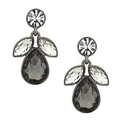 J by Jasper Conran - Designer mixed grey cluster drop earring