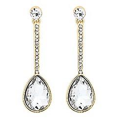 J by Jasper Conran - Designer crystal stick peardrop earring