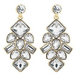 J by Jasper Conran - Designer crystal cluster chandelier earring