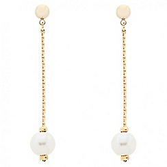 J by Jasper Conran - Designer pearl chain drop earring