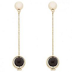 J by Jasper Conran - Designer jet pearl chain drop earring