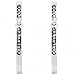 J by Jasper Conran - Designer crystal embellished stick drop earring