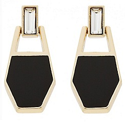 J by Jasper Conran - Designer baguette and enamel drop earring