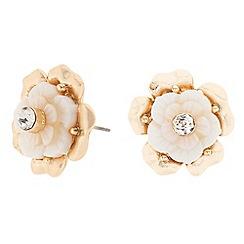 J by Jasper Conran - Designer crystal flower stud earring