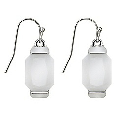 J by Jasper Conran - Semi precious drop earring