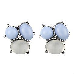 J by Jasper Conran - Designer blue cluster stud earring