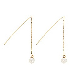 J by Jasper Conran - Designer chain thread through pearl earring