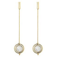 J by Jasper Conran - Designer spinning circle tassel drop earring