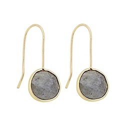 J by Jasper Conran - Designer semi precious stone peardrop earring