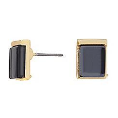 J by Jasper Conran - Designer jet crystal square stud earring