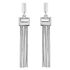 J by Jasper Conran - Designer gold crystal tassel drop earring
