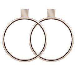 J by Jasper Conran - Designer gold forward facing hoop earring