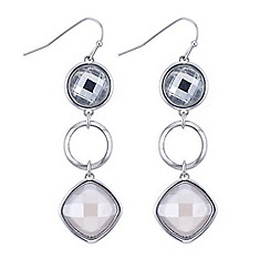 J by Jasper Conran - Designer crystal multi shape earring