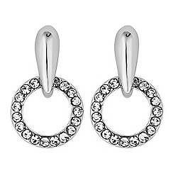 J by Jasper Conran - Designer crystal mini hoop earring
