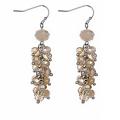 J by Jasper Conran - Designer cluster beaded earring