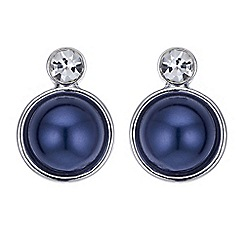 J by Jasper Conran - Designer pearl disc and crystal earring