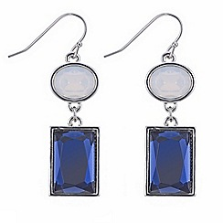 J by Jasper Conran - Designer multi shape crystal earring