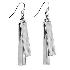 J by Jasper Conran - Designer silver double stick earring