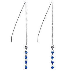 J by Jasper Conran - Designer blue crystal earring