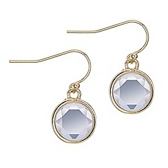 J by Jasper Conran - Designer gold crystal earring