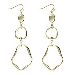 J by Jasper Conran - Designer gold multi hoop earring