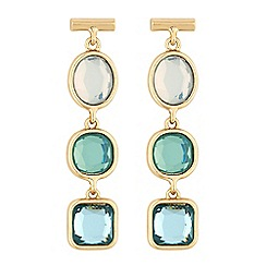 J by Jasper Conran - Ocean tonal crystal earring