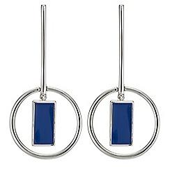 J by Jasper Conran - Geometric drop earring