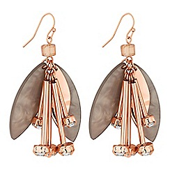 J by Jasper Conran - Flower droplet earring