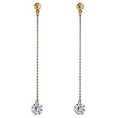 J by Jasper Conran - Designer crystal drop earrings