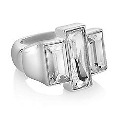 J by Jasper Conran - Designer baguette crystal ring