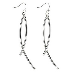J by Jasper Conran - Designer curve drop earrings