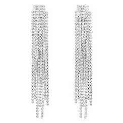 J by Jasper Conran - Designer diamante shower drop earrings