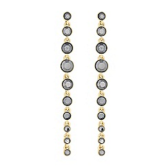 J by Jasper Conran - Faceted crystal droplet earrings