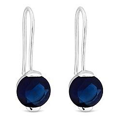 J by Jasper Conran - Faceted crystal drop earrings